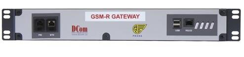 Brána pro připojení integrovaného dispečerského systému Radiovoice 3 do GSM-R sítě