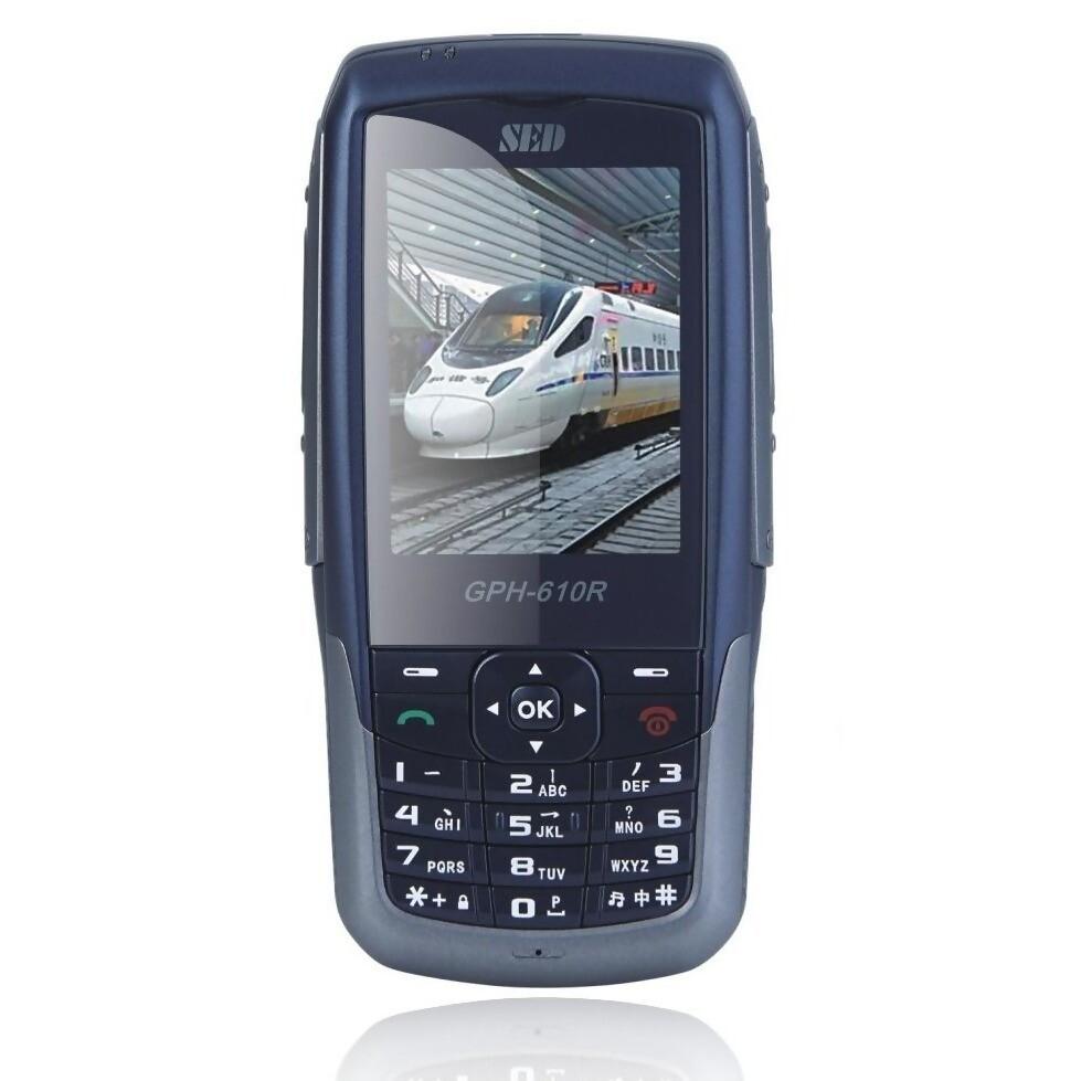 GSM-R drážní telefon SED GPH-610R schválený pro použití v síti SŽDC