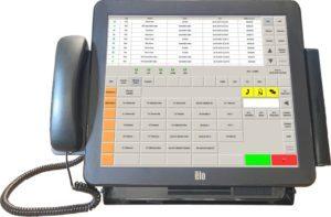 DCom Telekomunikační obslužný panel TOP - dispečerské pracoviště