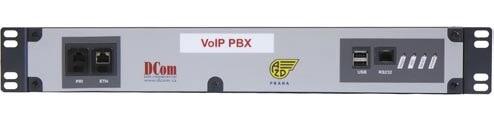 VoIP telefonní ústředna pro dispečerské systémy RV3