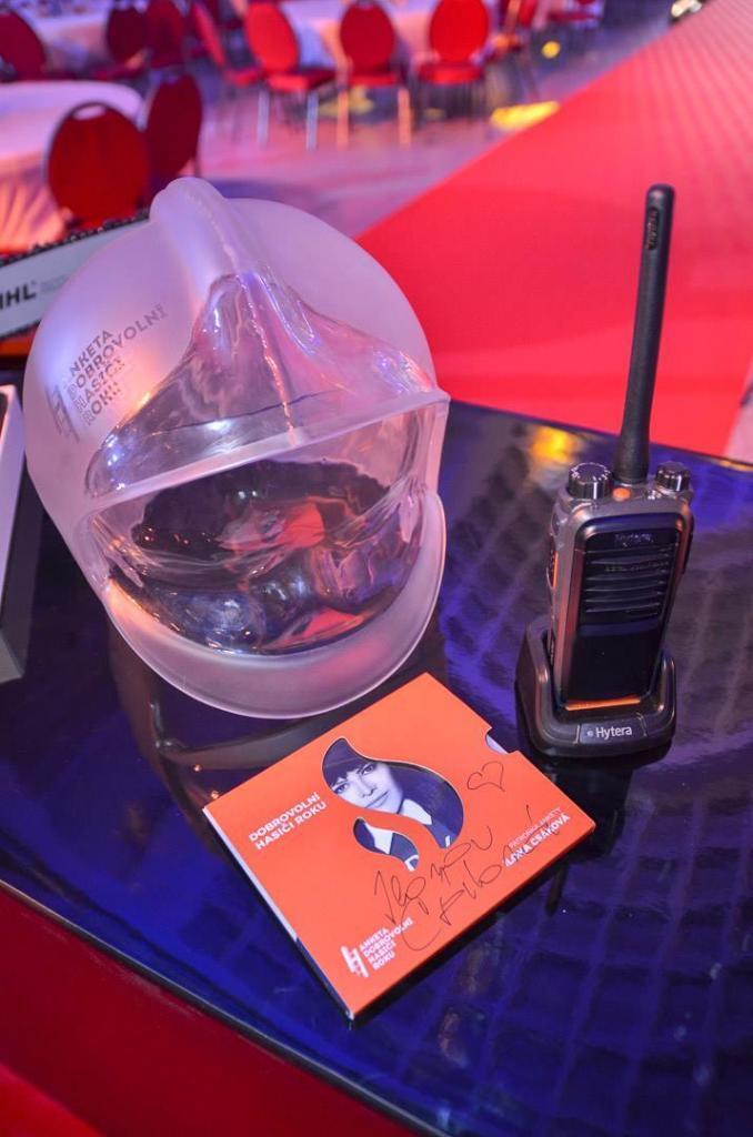 Radiostanice Hytera pro oceněné dobrovolné hasiče