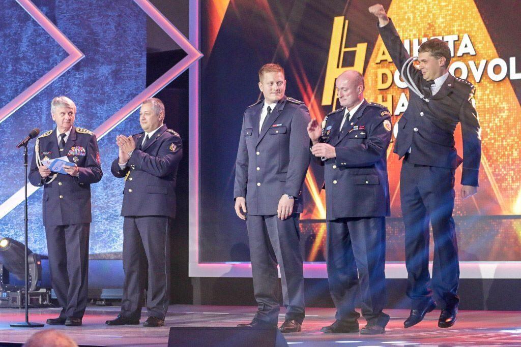 Slavnostní vyhlášení Ankety Dobrovolní hasiči roku 2018