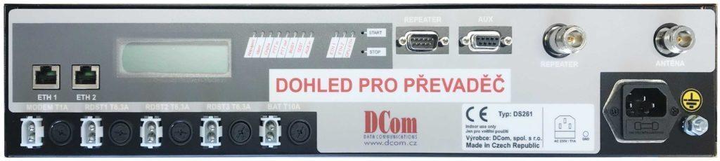 DS261 napájecí zdroj a dohledové zařízení pro převaděče radiové sítě