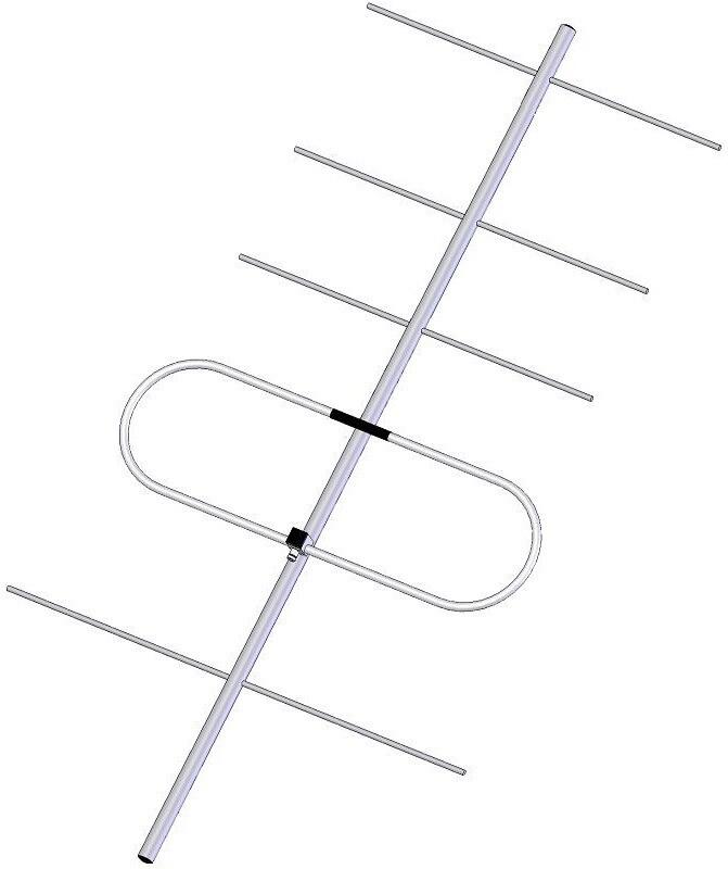 Směrová základnová VHF anténa ZZ205